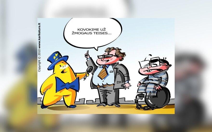 Leonidas Donskis Europiukui kalba apie žmogaus teises
