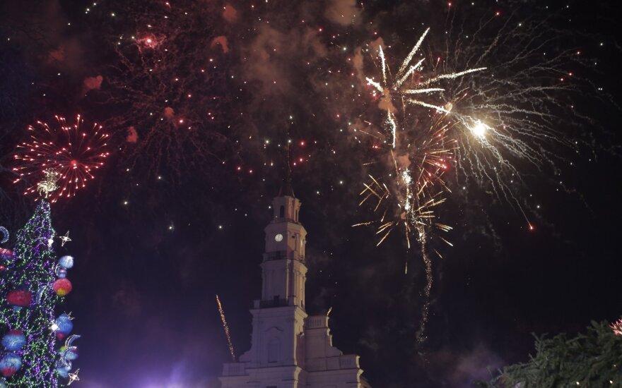 Siautulingą Naujųjų metų naktį pareigūnus nustebino Kaunas