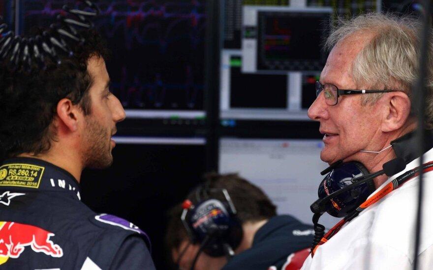 """H. Marko: """"Formulės-1"""" automobiliams reikalingi naujo tipo varikliai"""