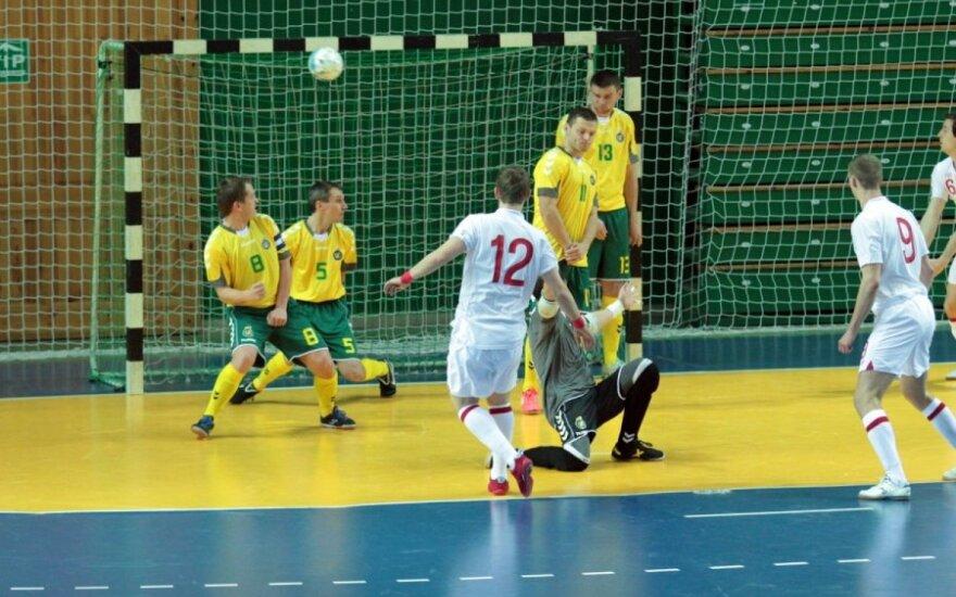 Kaune - UEFA Salės futbolo atrankos turnyras