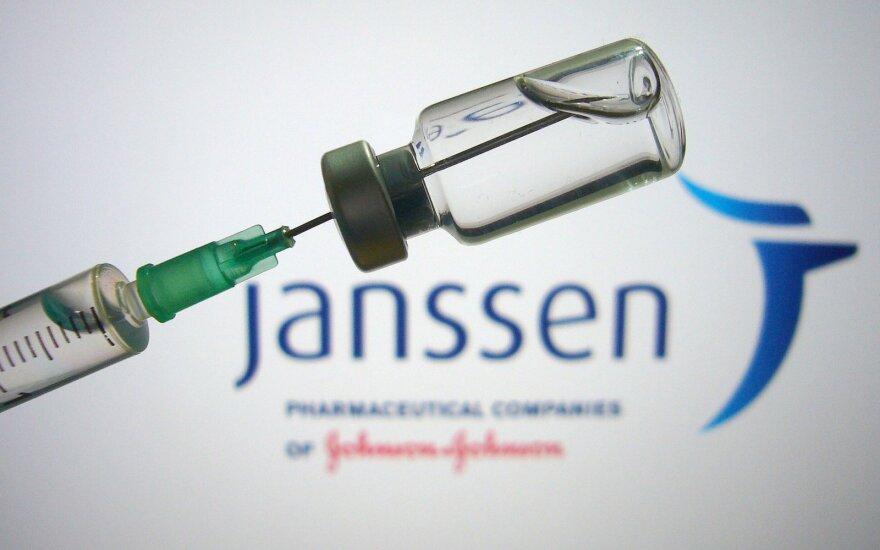 """""""Johnson & Johnson"""" vakcina"""