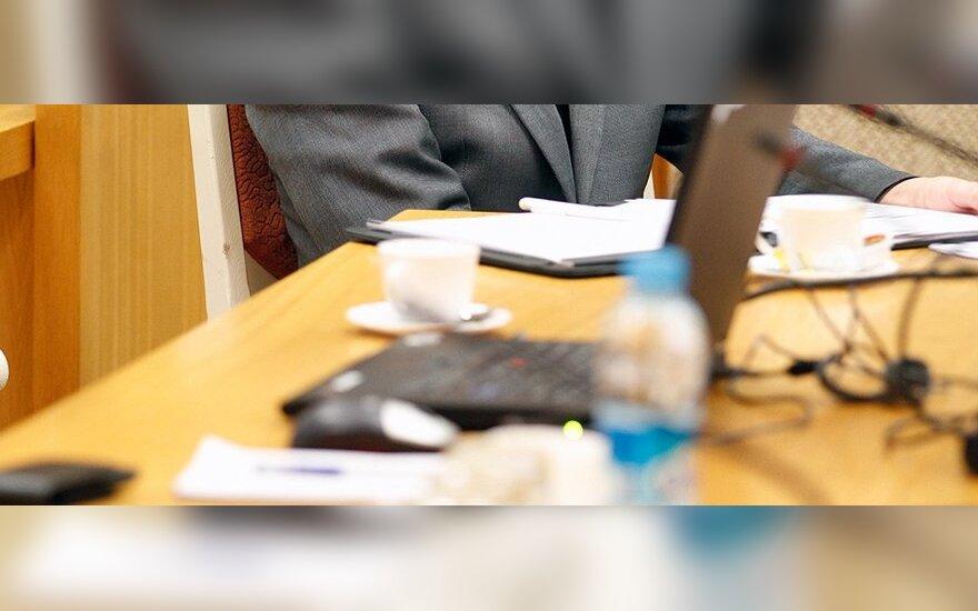 Seimo pirmininkė: komitetų posėdžiai turi būti atviri