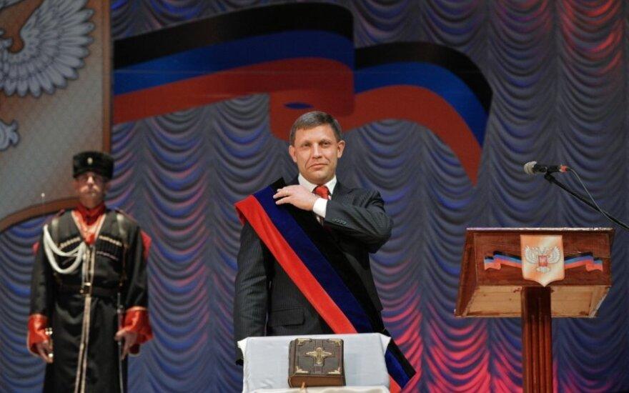 Donecke įvyko A. Zacharčenkos inauguracija