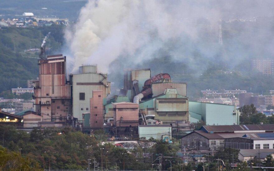 Šiaurės Japonijoje 6,6 balo žemės drebėjimas