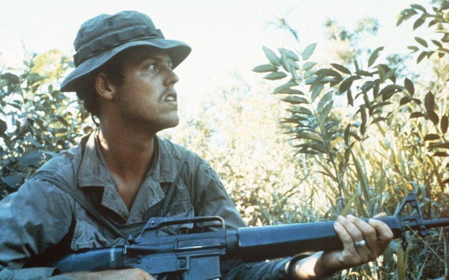 JAV karys su M16 Vietname, 1970m.