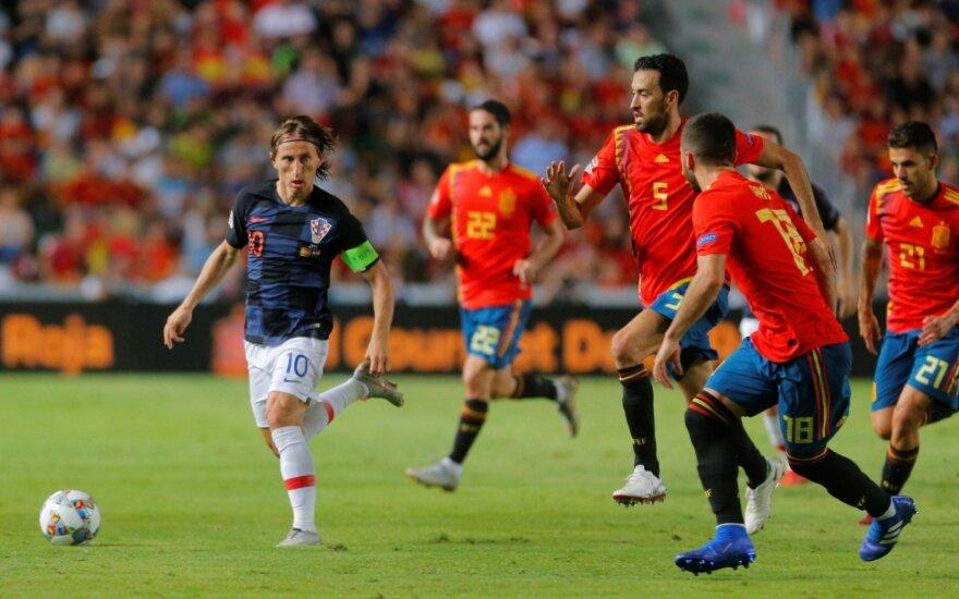"""Ispanų pažemintas Modričius apie """"Ballon d'Or"""": jei laimėsiu, bus puiku"""