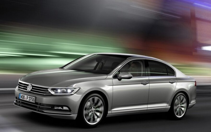 Berlyne pristatytas naujasis Volkswagen Passat