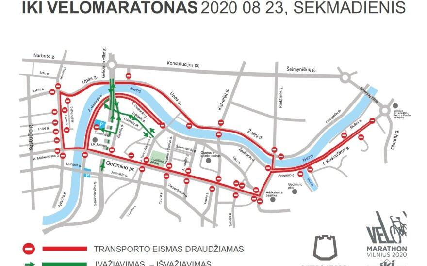 Vilniuje savaitgalį laukia eismo ribojimai: į kai kurias gatves automobiliai nebepateks