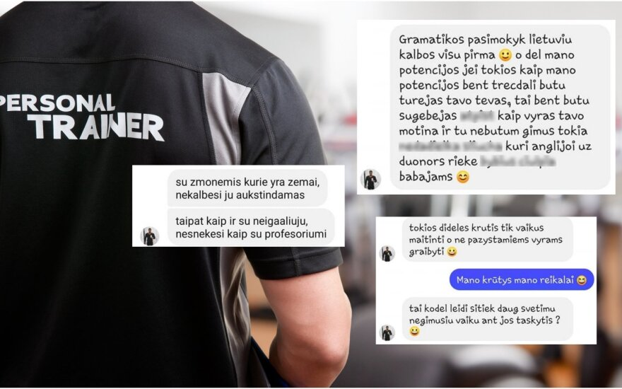 Šokiravo asmeninio trenerio žinutės / Foto: Shutterstock, Kas vyksta Kaune skaitytojų
