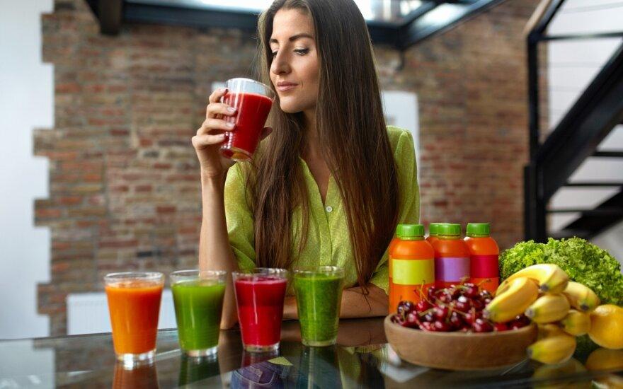 Detoksikacija, organizmo valymas, mityba, dieta