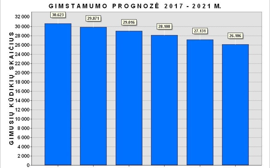 Prognostinis Lietuvos gyventojų kaitos 2017-2021 m. laikotarpyje tyrimas (R. Tučo nuotr.)