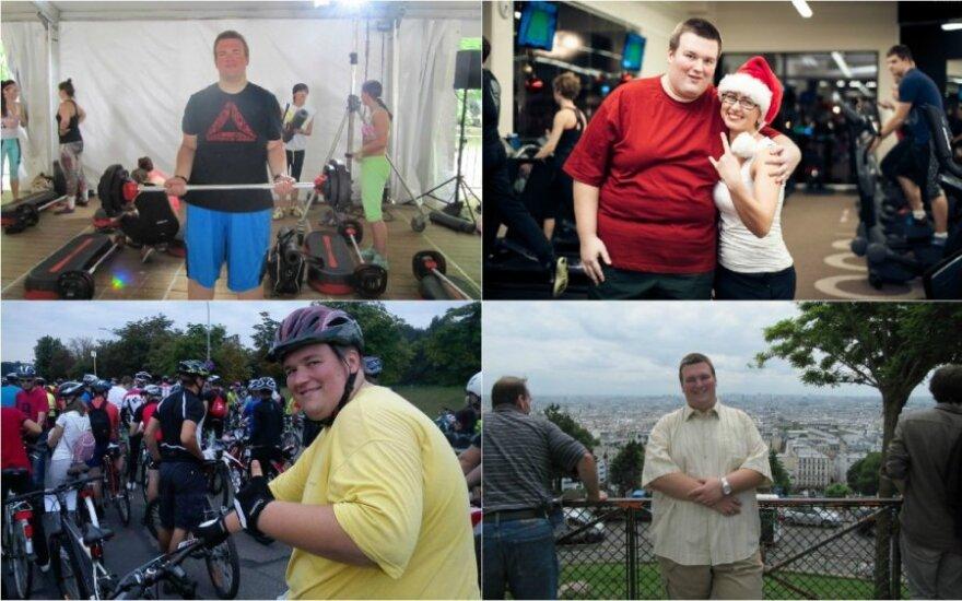 Osvaldo sėkmės istorija: per pusę metų - minus 40 kg