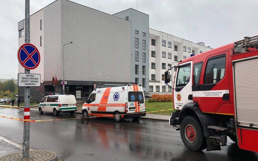 """""""Aras"""" evakavo Vilniaus miesto apylinkės teismą: vyras pranešė, kad užminavo pastatą"""