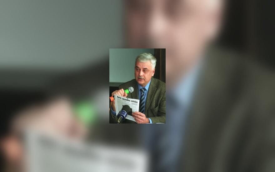 Buvęs LRT generalinis direktorius V.Milaknis