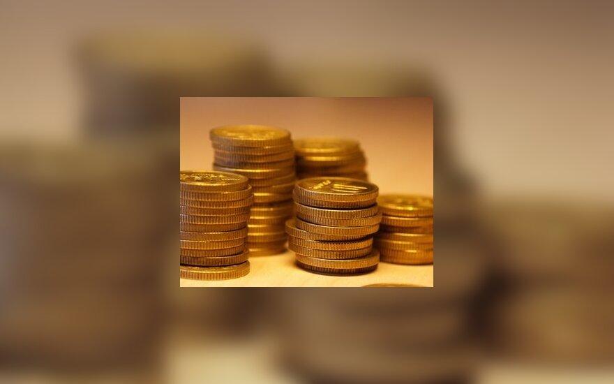 Pinigai, centai, monetos, verslas