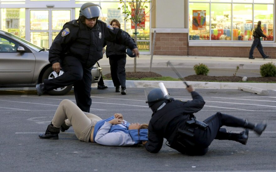Protestai Baltimorėje