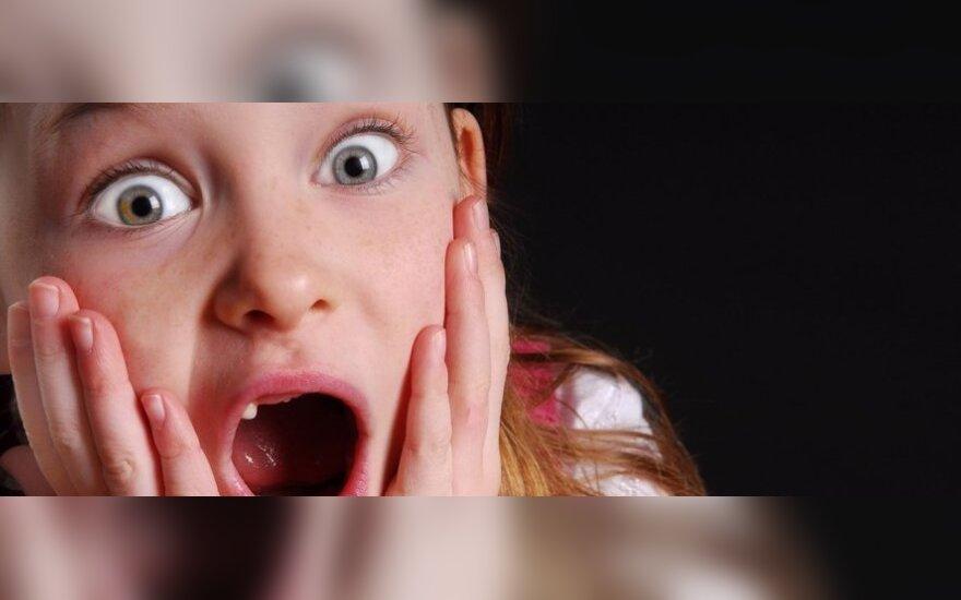 Viena dažniausių vaikų baimių - kaip ją nugalėti