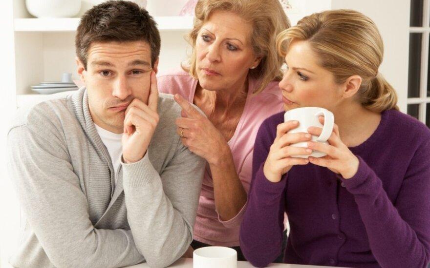 9 požymiai, kad mylimoji – vis panašesnė į savo mamą