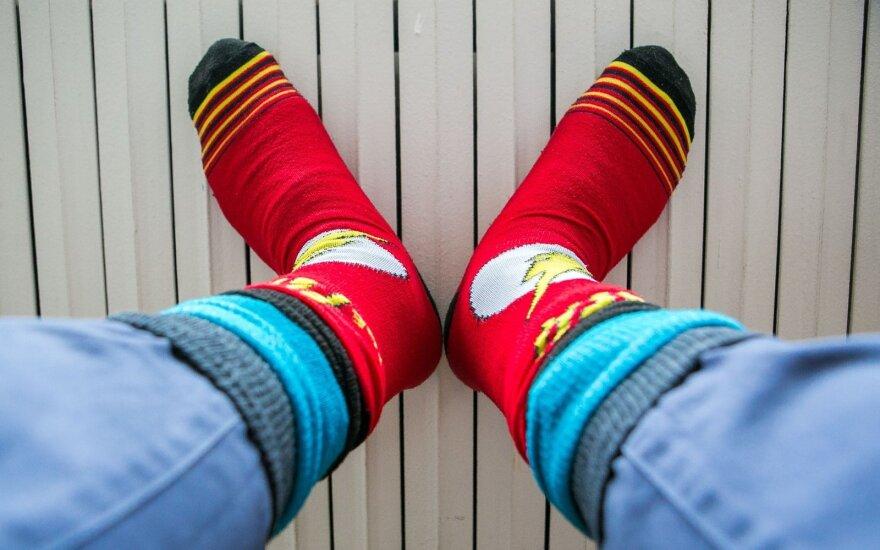 Vyriškų kojinių mados: kokios klaidos pasitaiko dažniausiai?