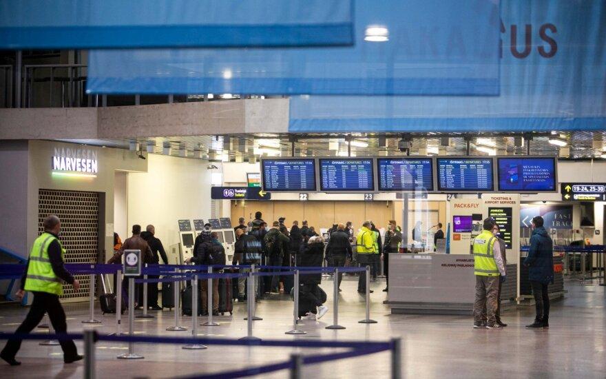 """""""Air Baltic"""" ir """"Wizz Air"""" kitą savaitę pradės skrydžius į Taliną ir Oslą"""