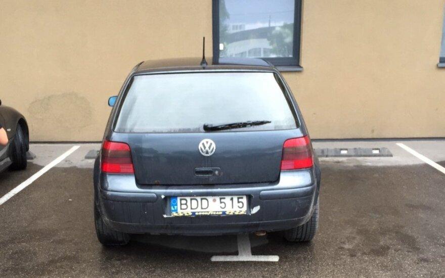 """Savaitės """"Baudos kvitas"""": mano automobilis – mano taisyklės!"""