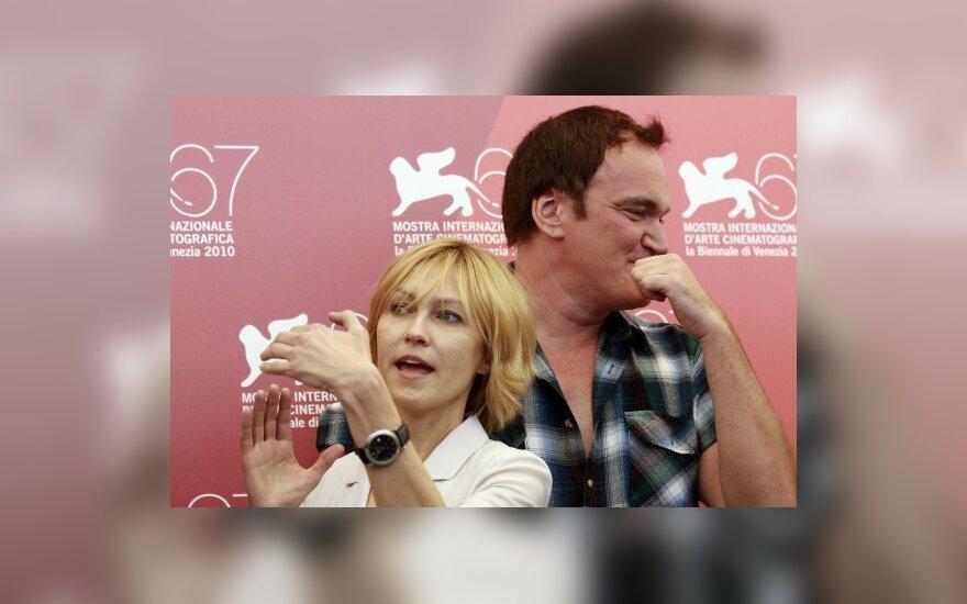 Aktorė Ingeborga Dapkūnaitė ir režisierius Quentinas Tarantino