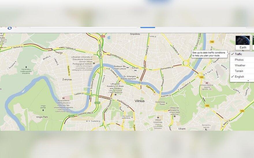 Maps Google.Google Maps Zemėlapiuose Matysis Kuriose Vilniaus Vietose Yra
