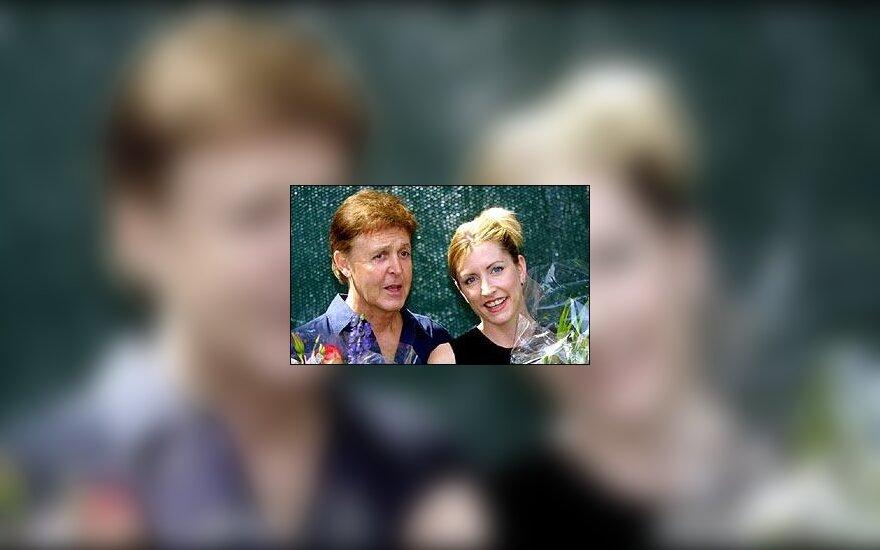 Paul McCartney ir Heather Mills