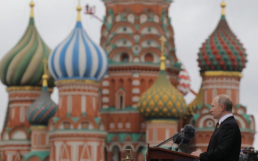 Ragina Vakarus atsibusti: V. Putinas mums jau paskelbęs karą