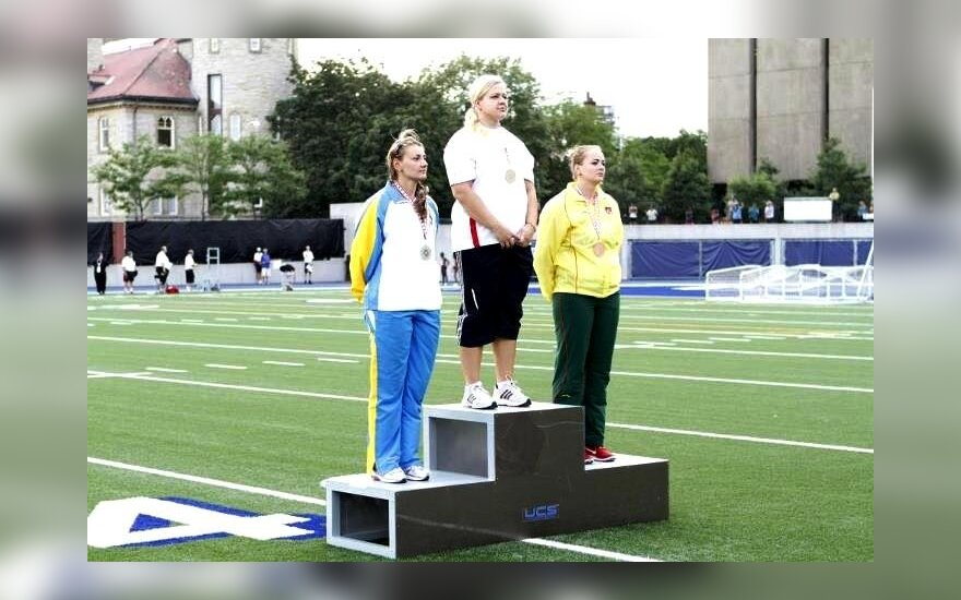 Larisa Voroneckaja užėmė 3 vietą (H3 Network Media nuotr.)