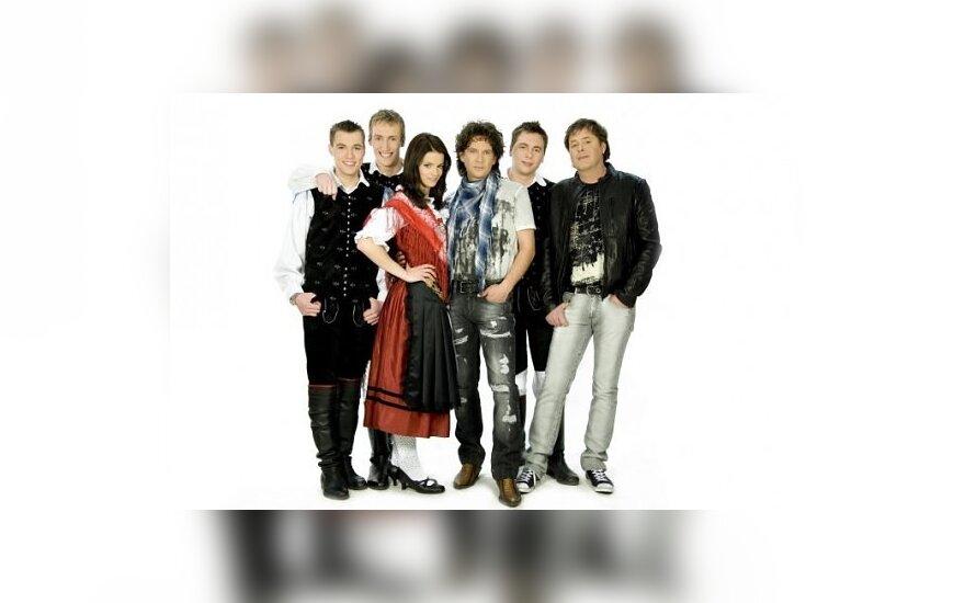 """""""Žlindra"""" ir """"Kalamari"""", eurovision.tv"""