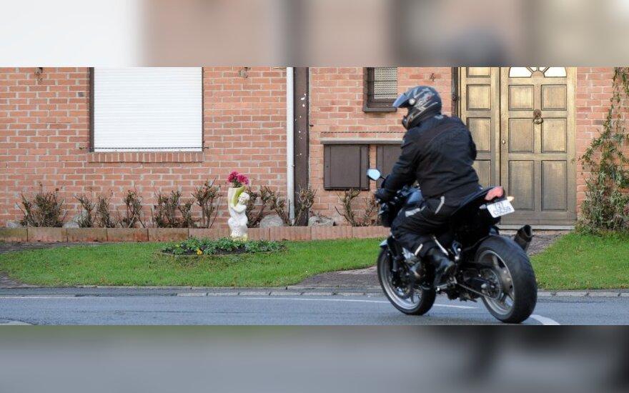 Motociklais nori riedėti į pėsčiųjų bulvarą
