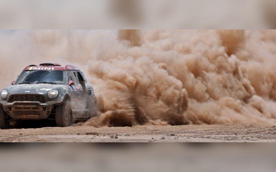 Devintas Dakaro ralio etapas