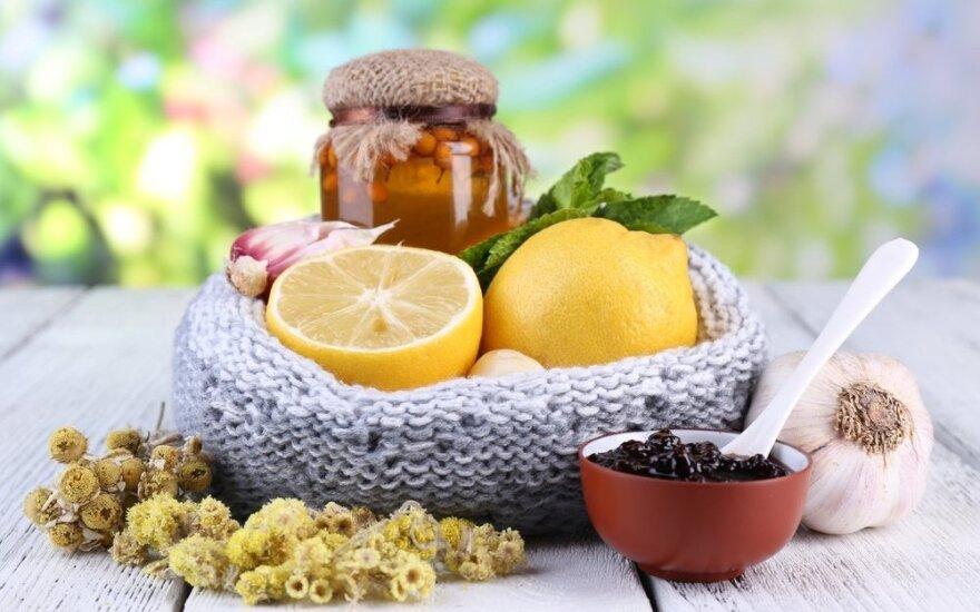 8 liaudies receptai nuo gripo ir peršalimo