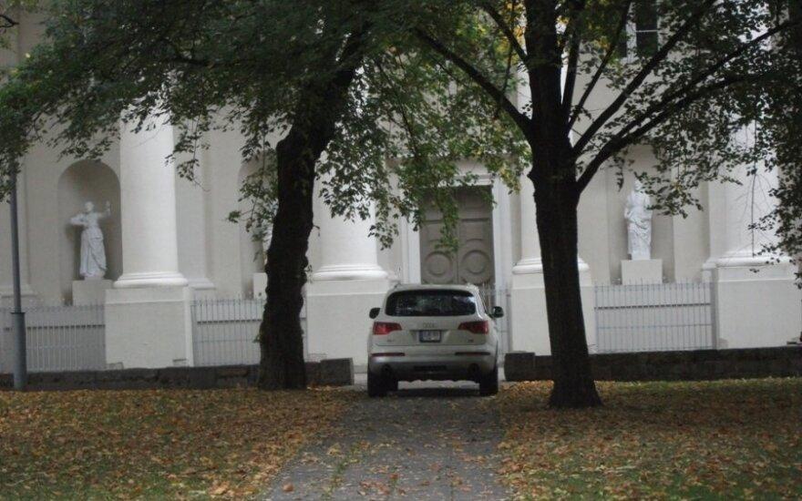 Vilniuje, Katedros a. 2011-10-03