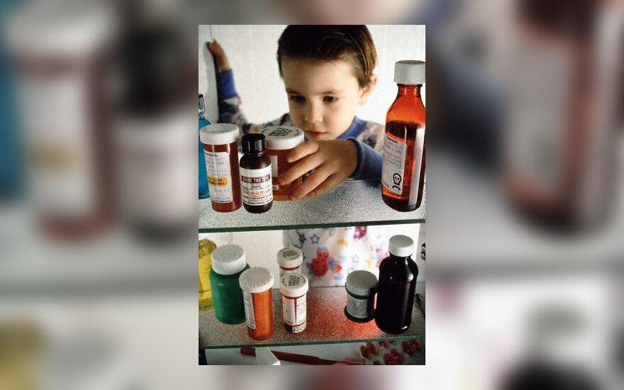 Vaikas, vaistai