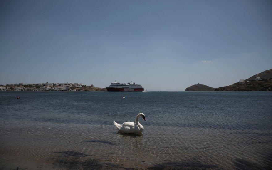 Graikijos saloje pabėgioti išėjusi britė dingo kaip į vandenį