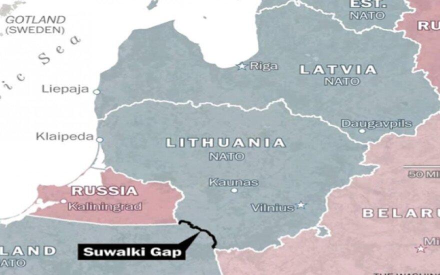 JAV apsisprendė: siųs karių apsaugoti koridorių tarp Lenkijos ir Lietuvos