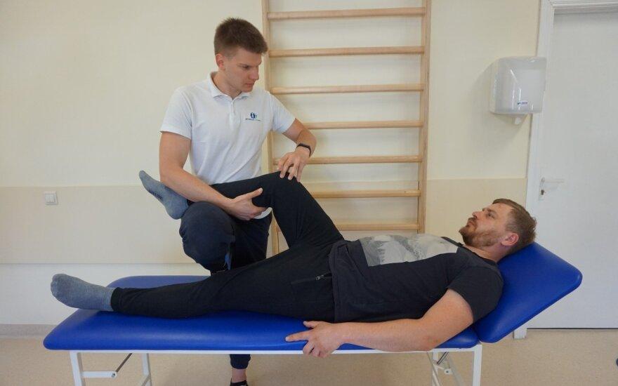 Kojos sanario skausmas