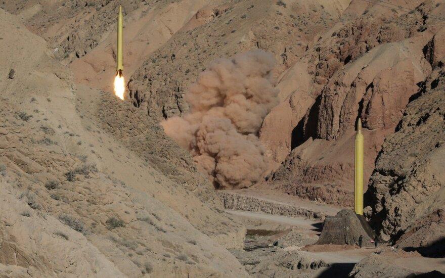 Iranas paleido dar dvi balistines raketas