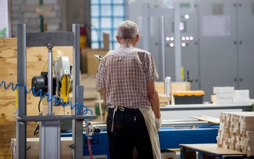 Beveik 70 proc. Lietuvos žmonių nuo 55 iki 64 metų pernai turėjo darbą