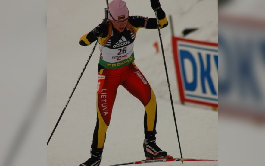 Pasaulio biatlono taurės moterų sprinto rungtyje D.Rasimovičiūtė buvo tik 72-a