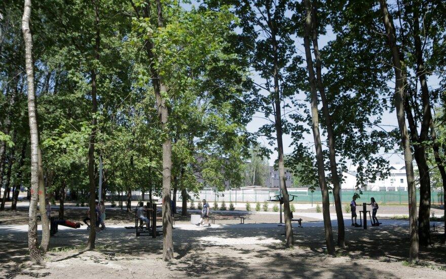 Kaune atidarytas naujas parkas