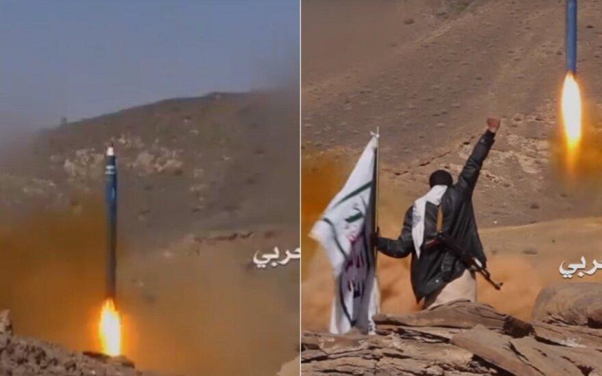 Saudo Arabija numušė iš Jemeno paleistą raketą