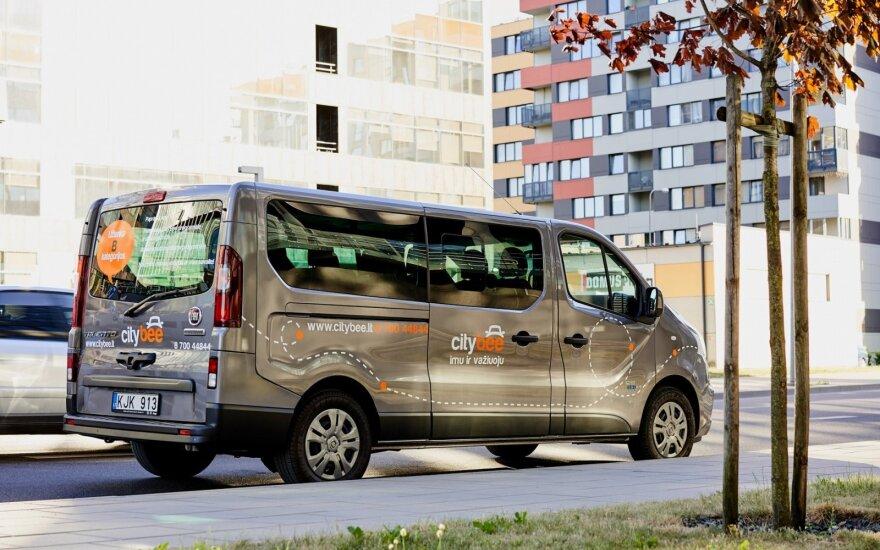 """CityBee"" pasipildė autobusiukais ""Fiat Talento"""