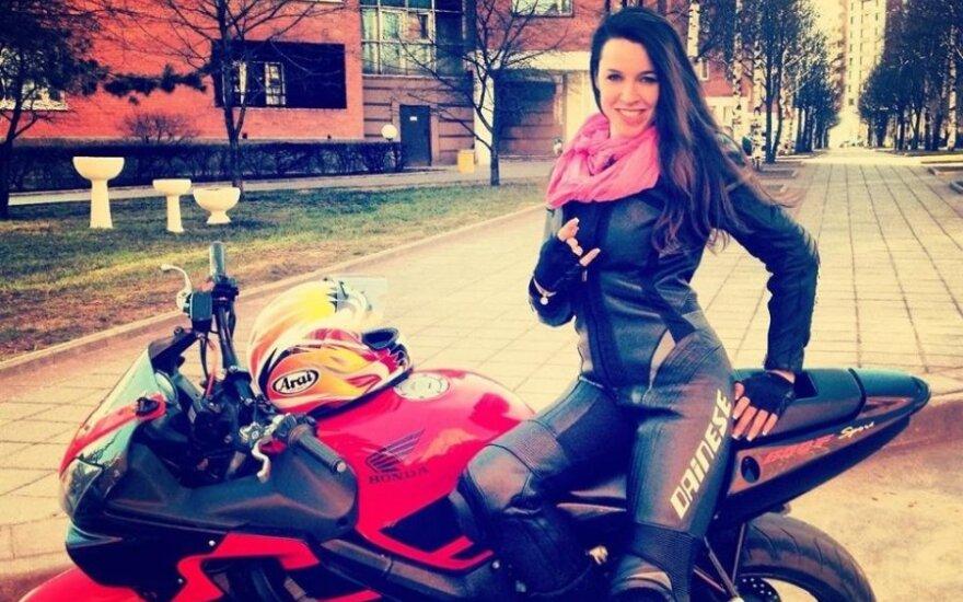 Motociklininkė Viktorija