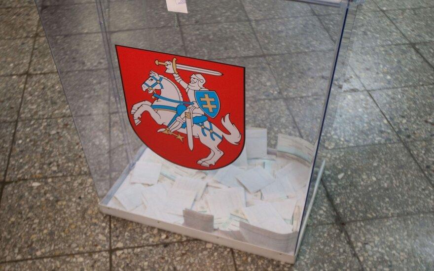 Prasideda balsavimas renkant Jonavos ir Šakių merus bei Seimo narį Anykščiuose