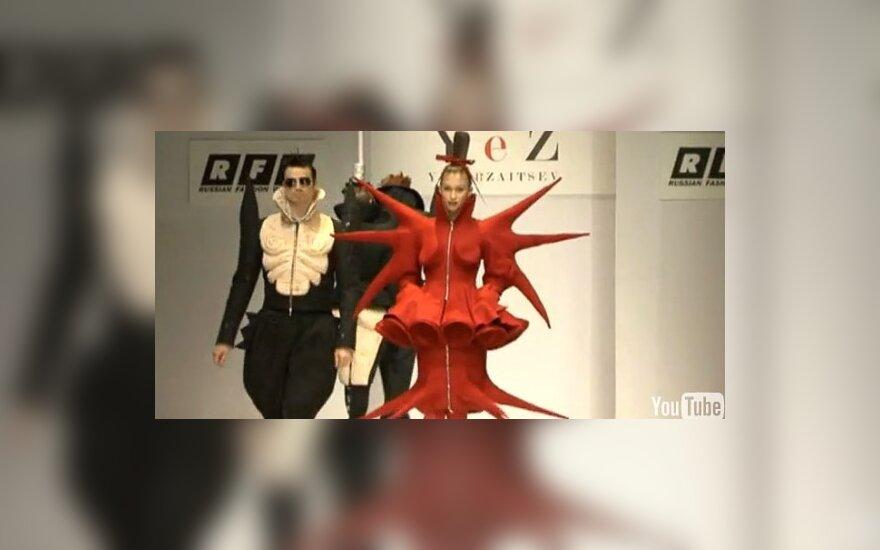 J.Zaicevo modeliai iš 2010-2011 m. kolekcijos, Rusijos mados savaitė