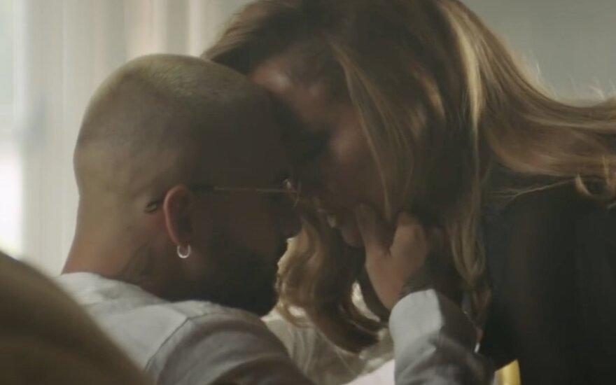 Jennifer Lopez ir Maluma, kadras iš vaizdo klipo