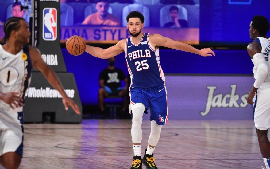 Simmonsui šis NBA sezonas jau gali būti baigtas